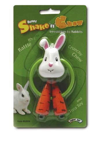 Игрушка для кролика.  Super Pet Rabbit Bunny Shake N Chew Toy